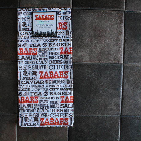 PRINTED KITCHEN TOWEL / ZABAR'S