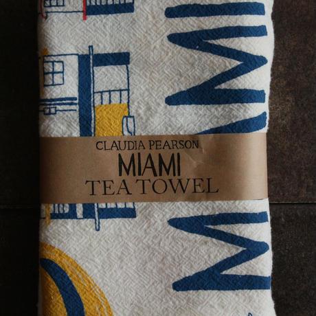 TEA TOWEL MIAMI / Claudia Pearson