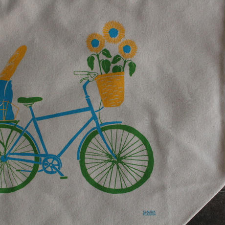 MARKET TOTE BICYCLE / Claudia Pearson