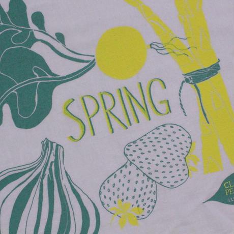 TEA TOWEL SPRING / Claudia Pearson