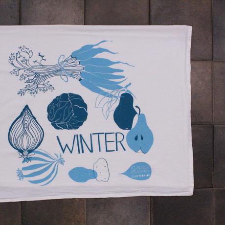 TEA TOWEL WINTER / Claudia Pearson