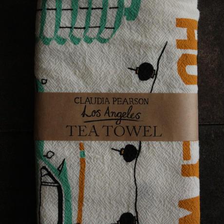 TEA TOWEL LOSANGELES / Claudia Pearson