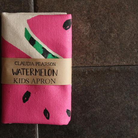 KIDS APRON WATERMELON / Claudia Pearson