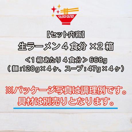 【4食×2箱セット】下館ラーメン(なま)