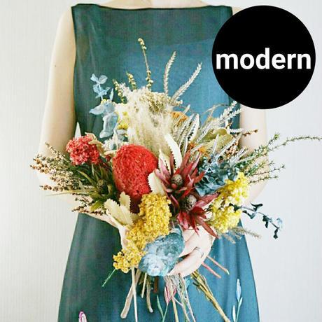 おしゃれな花束 プレゼントや結婚式にも クラッチ mix 1022