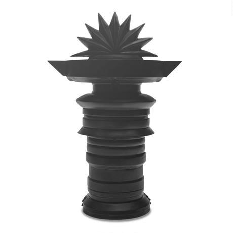TOTEM Sculpture / BLACK SOLID