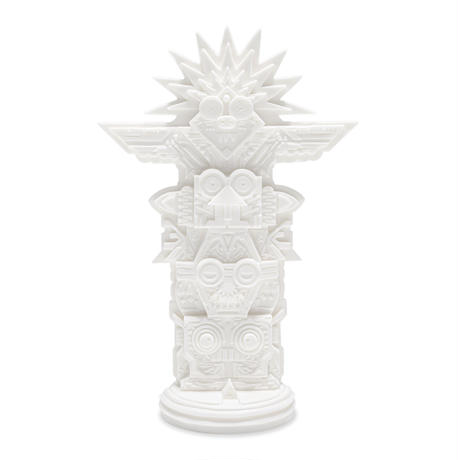 TOTEM Sculpture / WHITE SOLID