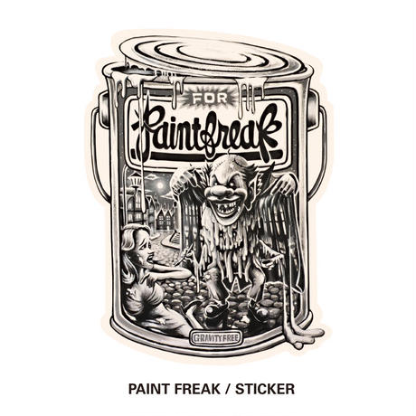 PAINT CAN / STICKER