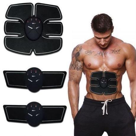 腹筋トレーニング トレーニングパッド シックスパッド 無線 フィットネスマシン ウエスト ダイエット リモコン 電池式