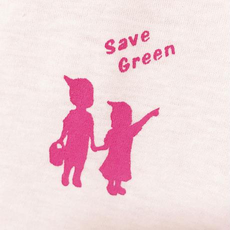 サマー大特価 1000円! SAVE GREENガールズT 【在庫限り】