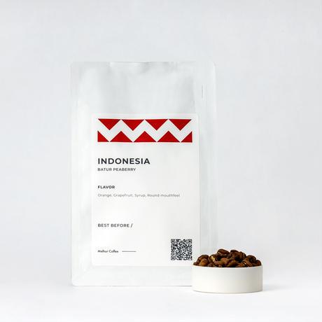 Indonesia Batur Peaberry(インドネシア バトゥール ピーベリー) 100g