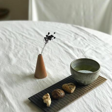 灰釉粉引丸湯呑  /  高木剛
