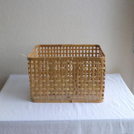 竹の洗いかごM /     タケカンムリ  (予約)