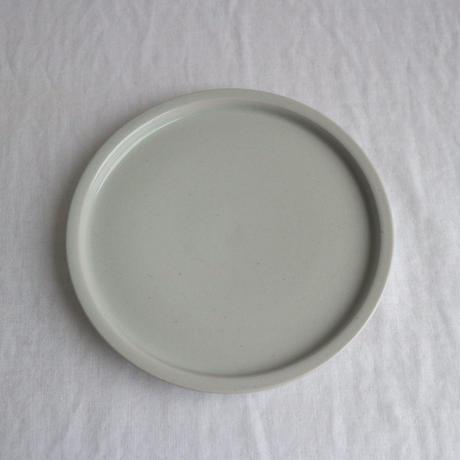 リム皿細5.5寸白 / こいずみみゆき