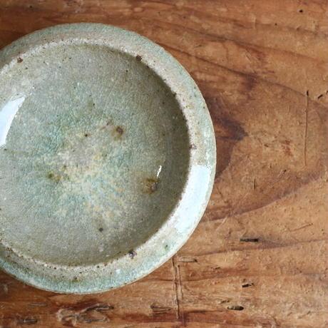 豆石皿(粉引・黄粉引・灰・黒・青緑) /  小林徹也