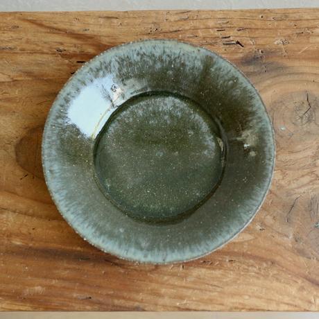 緑釉段皿 / 田中大喜