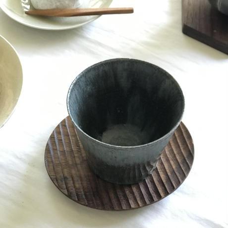 楕円豆皿BW /  加賀雅之