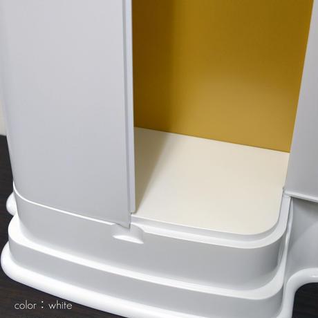 4colors/001ブラック・ホワイト・メタリックピンク・メタリックブルー/プラスチック/創価学会用ミニ仏壇/コンパクト仏壇/モダンデザイン/SGI・SOKA