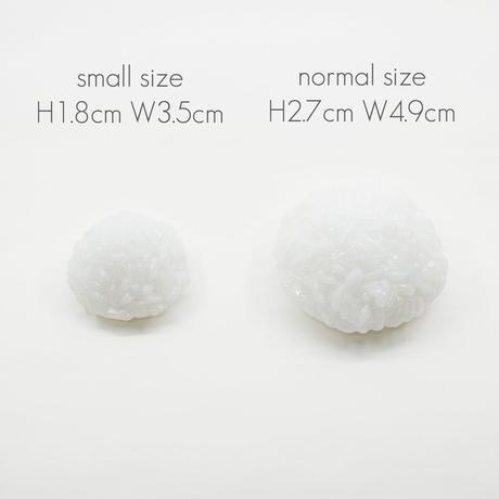 お供えごはん/仏飯/001/全高3.3cm/サイズ:ノーマル/イミテーション/サンプル/お米/めし/ポリ塩化ビニル/PVC