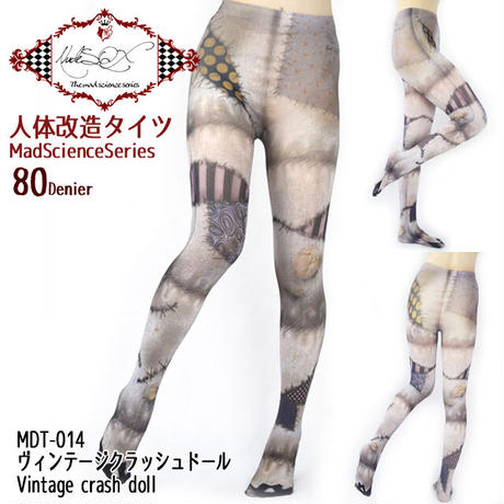 MDT-014  Mad Science tights<ヴィンテージクラッシュドール/Vintage crash doll>