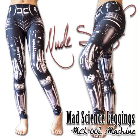 MDL-002 Mad Science Leggings<機械/Machine>