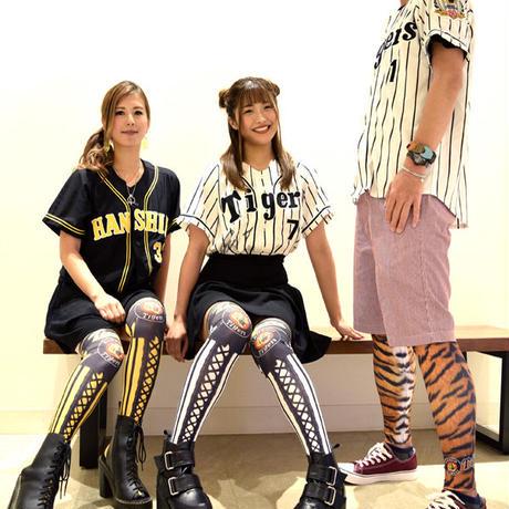 NHT 阪神タイガース女子ニーハイソックス <ホーム/選手背番号名前入り>