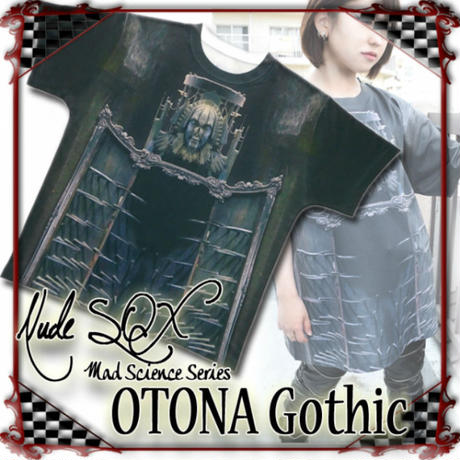NDW-OG.001 OTONA Gothic project Printed BIG T<アイアンメイデン/Iron Maiden>