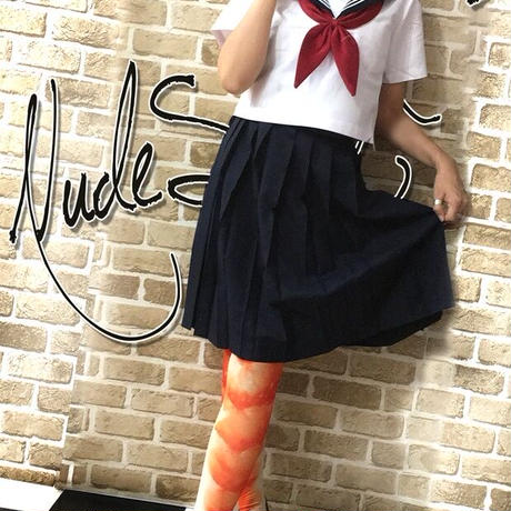 MDN-007 Mad Science knee high socks<ゆでえび/Boiled shrimp>