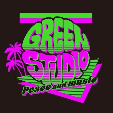 """Peace and music""ロングスリーブTシャツ"