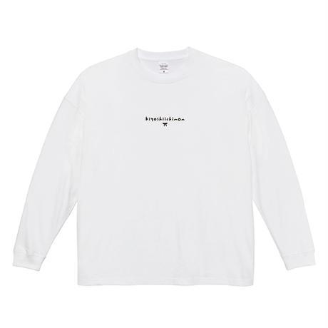 キヨシ一門ロングスリーブTシャツ(ホワイト)※ビッグシルエット