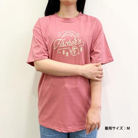 フィッシャーズ アウトドアTシャツ ピンク