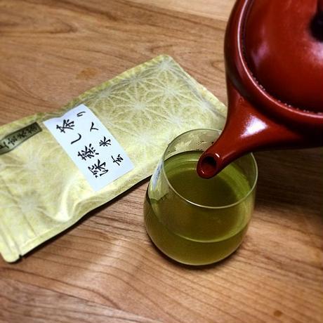 GREEN*TEA WORKSHOPロゴ入りフィルターインボトル+深蒸し玄米茶セット| 静岡茶のギフト、深蒸し茶専門店 GREEN*TEA WORKSHOP