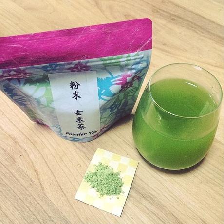『定期便商品』送料込み! 粉末緑茶 「玄米茶」3つセット| 静岡茶のギフト、深蒸し茶専門店 GREEN*TEA WORKSHOP