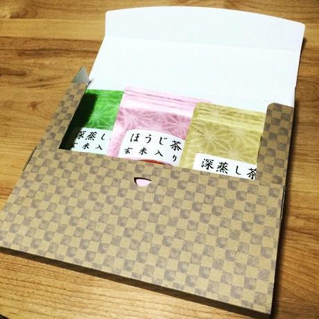 玄米茶セット(リーフ)| 静岡茶のギフト、深蒸し茶専門店 GREEN*TEA WORKSHOP