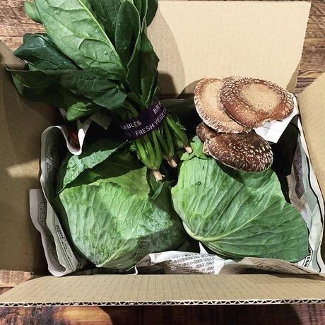 農家直送 おまかせ野菜セット+深蒸し茶 金谷茶のお買い得セット