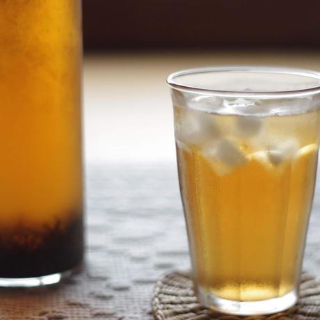 ボトルで水出し!「和紅茶50g」&「ほうじ茶50g」&フィルターインボトルセット