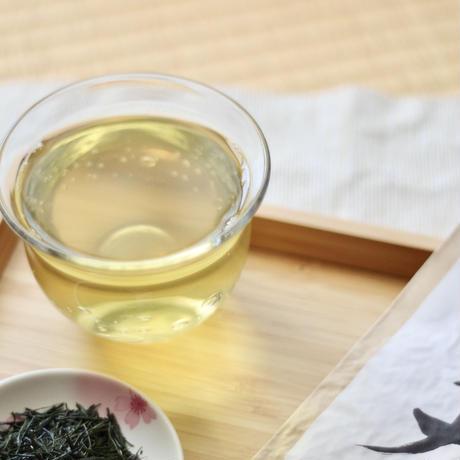 令和元年の芽重型仕立て!高級品種さえみどりの被せ煎茶「貢大」30g 残りわずか!
