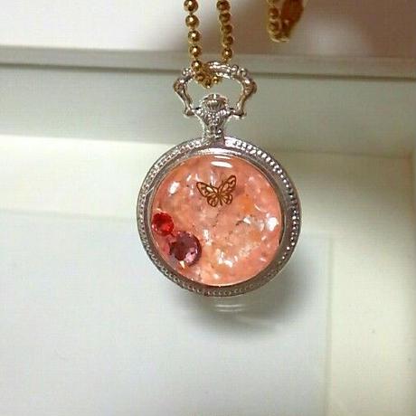 桜の懐中時計