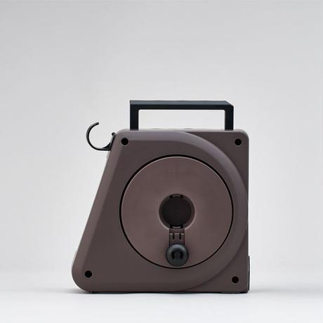 コンパクトガーデンリールⅡ 10m ブラウン