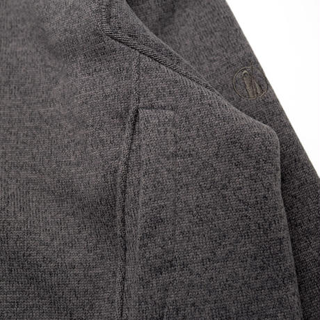 【Tilak+POUTNIK】SAGE Wooly Sweatshirts - Ash grey