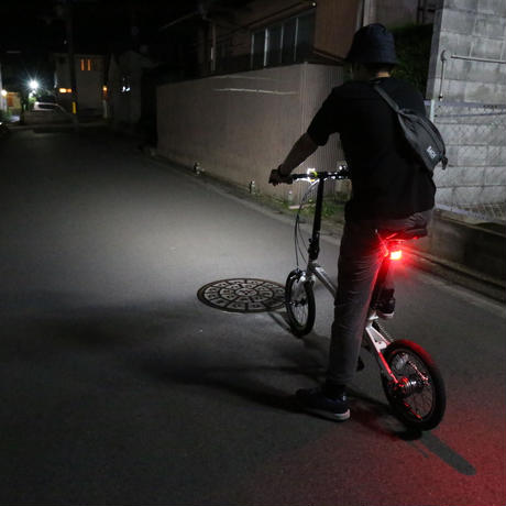 【BOOKMAN】Curve Rear Light Black/Black