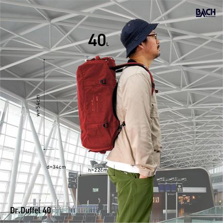 【BACH】Dr.Duffel 40L