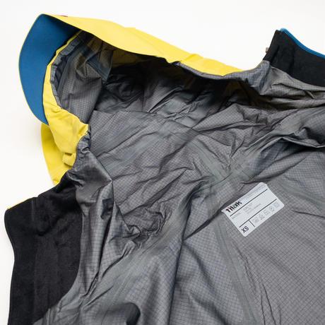 【Tilak】Raptor Jacket_Lemon/SeaBlue_XSサイズ※Salesman Sample