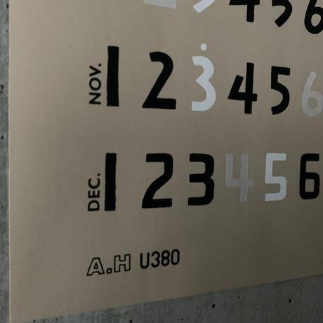 A.H+U380 - 2021 Calender