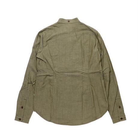 【KLATTERMUSEN】Lofn Shirt L/S_MossGreen_Sサイズ_※SalesmanSample