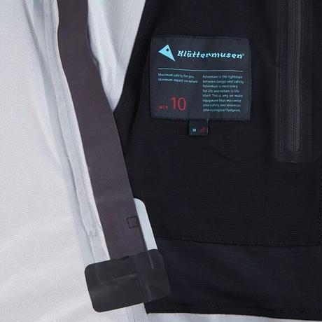 【Klattermusen】Allgron Jacket M's_DeepSea_Sサイズ_※Salesman Sample