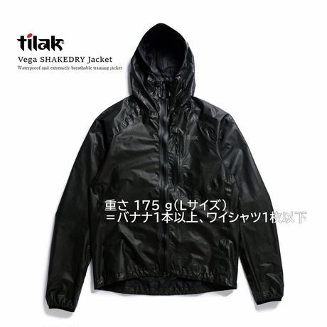 【Tilak+POUTNIK】Vega SHAKEDRY™Jacket _Black