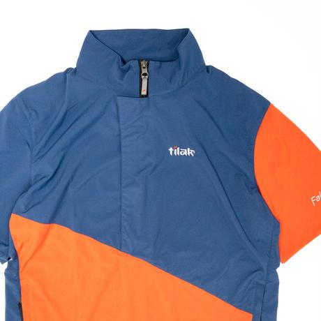 【Tilak+POUTNIK】Falco S/S_Denim/Coral_Sサイズ_※SalesmanSample
