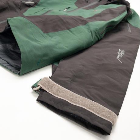 【Tilak】Raptor Jacket_Carbon/EmelardGreen_Sサイズ※Salesman Sample