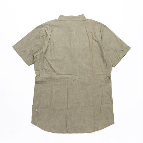【KLATTERMUSEN】Lofn Shirt S/S_MossGreen_Mサイズ_※SalesmanSample